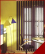 Lamellenvorhang Senkrechtfenster
